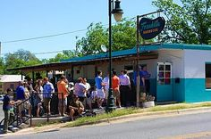 Franklin BBQ - eat the nation's best bbq! It's worth the sometimes 2 hour wait!