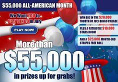 $20,000 4th of July Bingo Parade at Bingo Palace