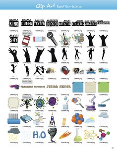 Clipart for School Yearbooks, Yearbook Art and Backgrounds, Yearbook Pictures