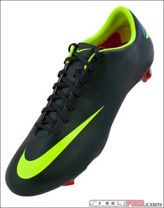 Nike Mercurial Vapor VIII FG Soccer Cleats - Seaweed with Challenge Red and Volt...$197.99