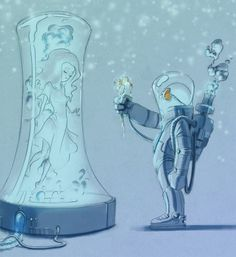 Mr. Freeze por Lilz Chan - Beauty and the Beast