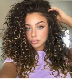 #CurlyHair #CurlyHairstyles #FrizzyHairstylescurly hairstyle bridesmaid curly hairstyle bangs curly hairstyle hollywood actress