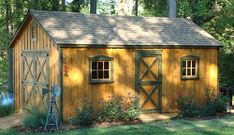 small outbuildings sheds | Discount Outdoor Sheds in VA of Every Shape & Size | Alan's Factory ...