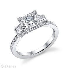 Cinderella Engagement Ring. trinkets