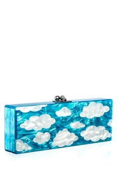 Flavia Sky by Edie Parker for Preorder on Moda Operandi