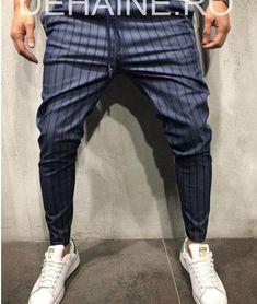 Pantaloni barbati bleumarin smart casual ZR A3564 B3-3