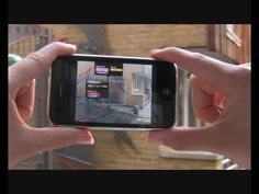 Nearest Tube Augmented Reality App for iPhone 3GS from acrossair