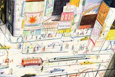 Yann KebbiPosted on décembre 2012 by camillelevertYann Kebbi Art Et Illustration, Illustrations, Coloured Pencils, Expositions, Urban Sketching, Michel, Paris, Local Artists, Graphic Design Inspiration