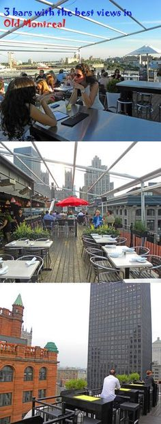 3 bars with the best views in Old Montreal http://bbqboy.net/3-bars-with-the-best-views-in-old-montreal/ #montreal #canada