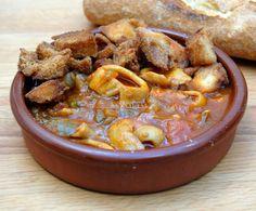 Calamares a la Malagueña. Andalucía.