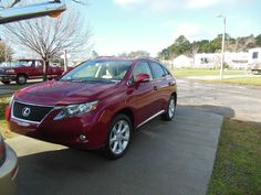 2010 Lezus RX 350.  A great car, but I miss the fun of the MINI