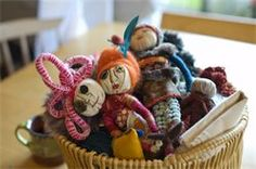 Art Therapy & Creative Arts Workshops - Family Workshop: Healing Dolls, Superheroes and Dream Animals; with Gretchen Ladd (RCAT, Vancouver)