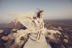 A breathtaking bridal editorial from The Lane shot in Mystique resort in Santorini, Greece. Styled and directed by Karissa Fanning and shot by Lauren Moss.