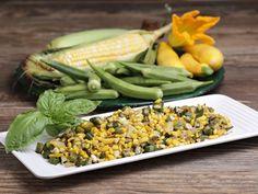 Sauteed Fresh Corn and Okra