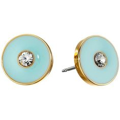Kate Spade New York Set in Stone Studs Earrings Earring ($38) ❤ liked on Polyvore featuring jewelry, earrings, blue, sparkly earrings, multi colored earrings, multi color stud earrings, multicolor earrings and multi colored stud earrings