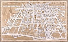Huguenots of Spitalfields Map by Adam Dant