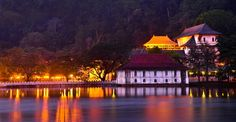 Kandy (Ancient Senkadagala) is the last capital of the Sinhala Monarchy the History of which goes back to at least five centuries before the beginning of the Common Era. The city is surrounded by a ring of mountain ranges and Sri Lanka's largest river Mahaweli Ganga.