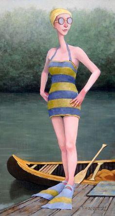 Fred Calleri - Big Dipper Canvas Art, Canvas Prints, Art Prints, Canvas Size, Illustrations, Illustration Art, Big Dipper, Creation Photo, Naive Art
