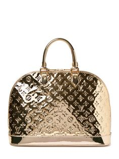 Louis Vuitton….Gold Miroir Alma Mm