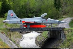 Swiss air force Northrop F-5 Freedom Fighter.
