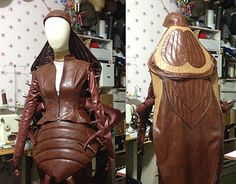 "Check out new work on my @Behance portfolio: ""cockroach costume"" http://be.net/gallery/31897413/cockroach-costume"