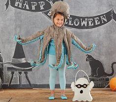 Octopus Costume, 4-6Y