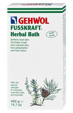 GEHWOL® FUSSKRAFT® Herbal Foot Bath: 21.00