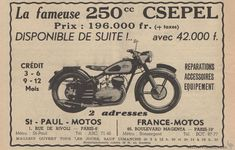 Csepel, Pannonia & White Gallery   Vintage & Classic Hungarian Motorcycles   Sheldon's EMU. France, Paris, Cycling Bikes, Motorbikes, Motorcycle, Classic, Vintage, Event Posters, Swiss Guard