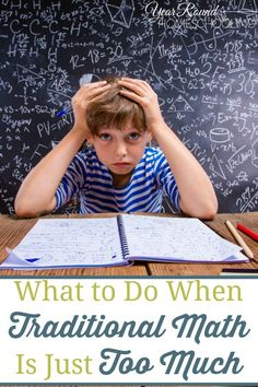What To Do When Traditional Math is Just Too Much   Caitlin Fitzpatrick Curley, Year Round Homeschooling