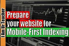 In this guide for mobile first indexing, I have stated all problems that can occur during mobile first indexing, which can block your website to give its best performance with mobile first indexing.