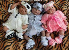 3 BEARY GORJUS GIRLS - via @Craftsy