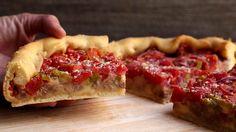 Grant's Chicago Deep-Dish Pizza Recipe- Rachel Ray.com