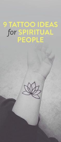 9 tattoo ideas for spiritual people