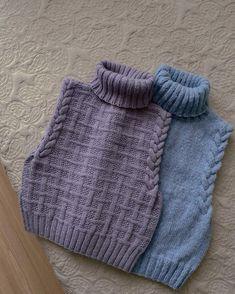 Crochet Vest Pattern, Cardigan Pattern, Knit Crochet, Knitting Patterns, Lace Sweater, Crochet Fashion, Aesthetic Clothes, Baby Knitting, Fashion Outfits