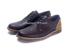 2017 New Timberland Mens Earthkeppers Anti Fatigue Shoes Dark Brown $ 82.00