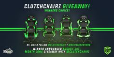 Enter This #Gaming Chair #Giveaway From @SocialGrowthHQ