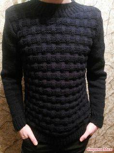 Мужской джемпер спицами Sweater Jacket, Men Sweater, Baby Knitting Patterns, Leather Working, Warm And Cozy, Knitwear, Diy And Crafts, Womens Fashion, Sweaters