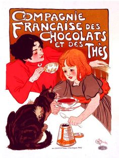 poster ´Francaise chocolats
