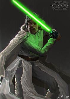 Luke Skywalker by Ron-faure.deviantart.com on @DeviantArt