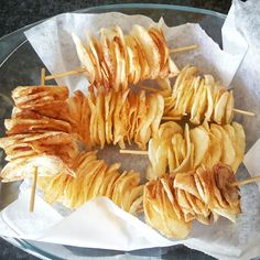 Snack ideas ♡ Chips-on-a-stick  #thecookingzen #chips #snack #snackideas