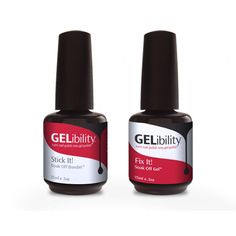 GELibility:  Turn regular nail polish into gel polish!