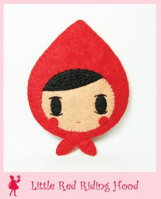 Felt Little Red Riding Hood | Hanako
