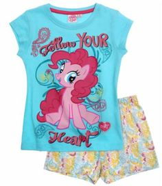 My Little Pony Shorty-Pyjama blau