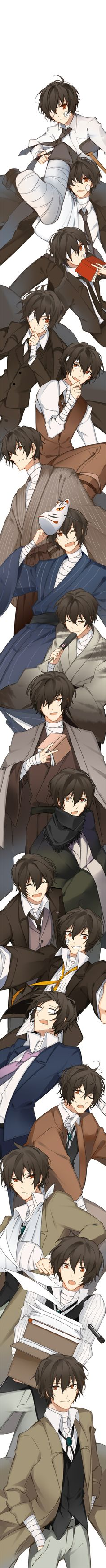 Dazai's transformation has been one of the most intriguing story in BSD. From the demon prodigy of Port Mafia, to the youngest executive ever, to a full time detective in ADA.