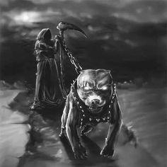 Reaper and pitbull