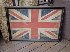 Union Jack sign vintage look $230