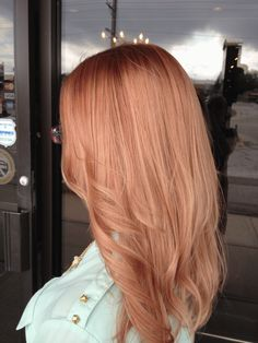 GOING FOR IT: Spring Rose Gold | Modern Salon