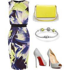 """New York Summer Wedding Guest Outfit"" by maria-kolosova-morris on Polyvore"