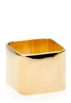 wide blank square ring