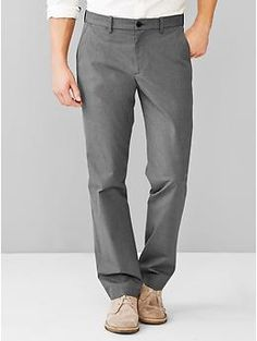 Textured pant (straight fit)